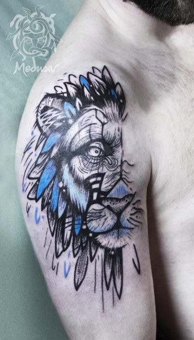 Umělecké tetování Frýdek-Místek, Custom tattoo, Tetování na míru, Graphic style tattoo