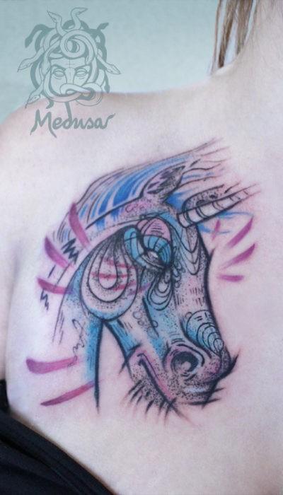 Umělecké tetování na míru