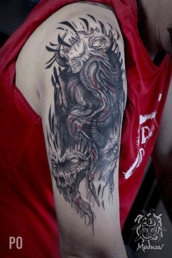 Umělecké tetování Frýdek